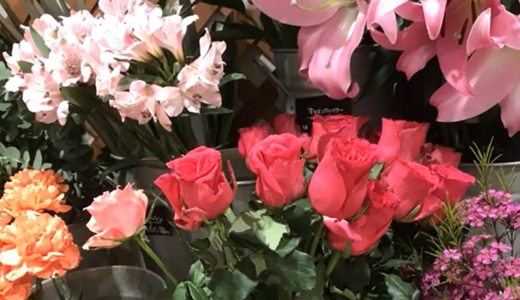 薔薇の切り花:クレイジーアイとコンフィデンシャルを買いました。